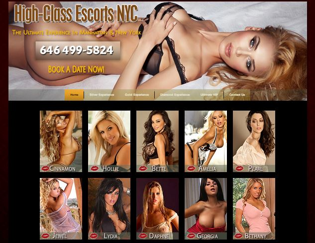 High Class Escorts NYC